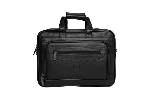 Swiss Military 15.6 inch 14 Ltrs Black Softsided Briefcase (PLB1)