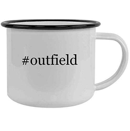 #outfield - 12oz Hashtag Stainless Steel Camping Mug, Black