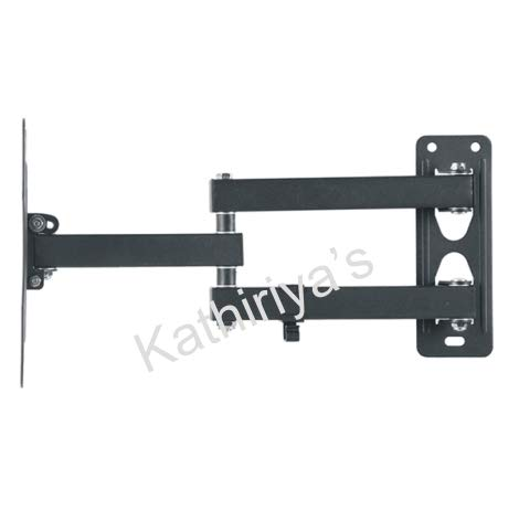 Kathiriyas Kathiriya,s Solid Heavy Metal Wall Mount Stand (Movable) for 17 to 40-inch LCD LED TV with All Screw (Black) 4