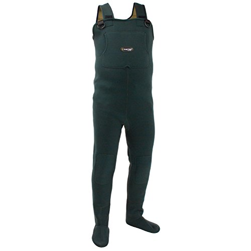 Frogg Toggs Amphib Neoprene Stockingfoot Chest Wader, Forest Green, Size XX-Large