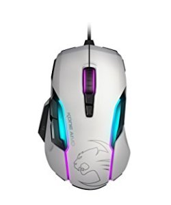 ROCCAT KONE AIMO - RGBA Smart Customization Gaming Mouse, White