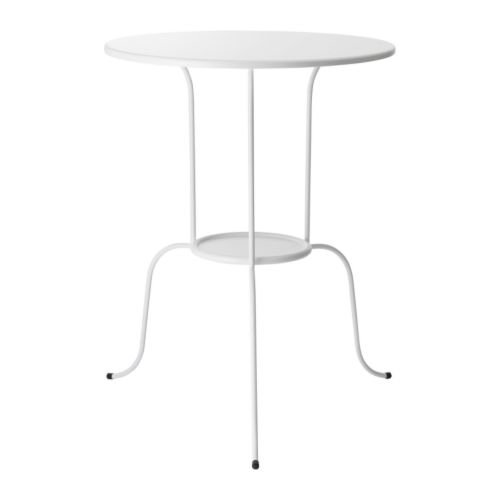 IKEA Side Table, White 824.81720.3830
