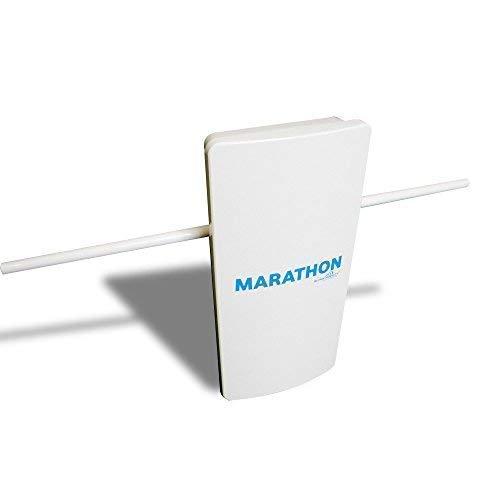 Free Signal TV Marathon Indoor Outdoor Antenna, Whole House 100 Mile Long Range High Performance Antenna for Digital HDTV