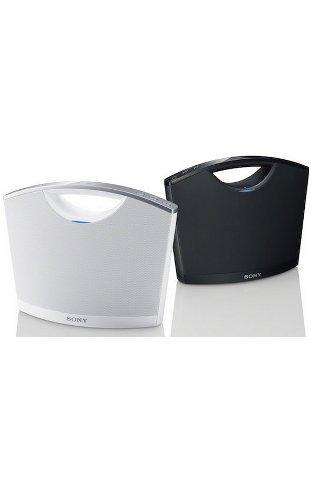 Sony SRSBTM8 Portable NFC Bluetooth Wireless Speaker System (White)