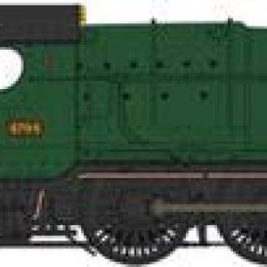 Heljan 4780 2-8-0 Night Owl GWR 4704 Green Monogram Logo 31K4 2BTzqmmL