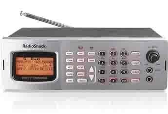 RadioShack Pro-163 Desk Top Triple Trunking Scanner