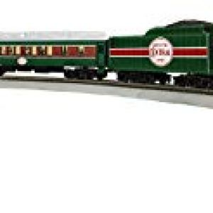 Lionel The Christmas Express Electric HO Gauge, Model Train Set with Remote and Bluetooth Capability 31KbKQrxC8L
