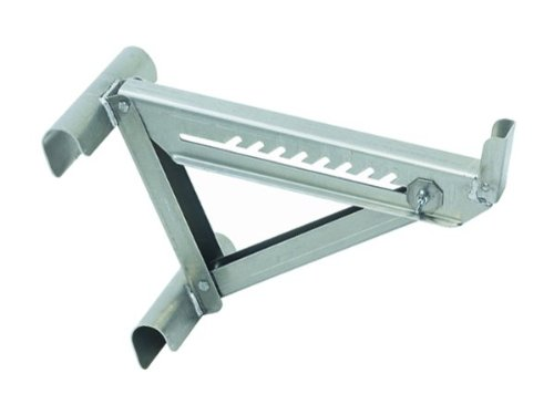 Qualcraft 2420 Two-Rung Short Body Ladder Jack, Silver
