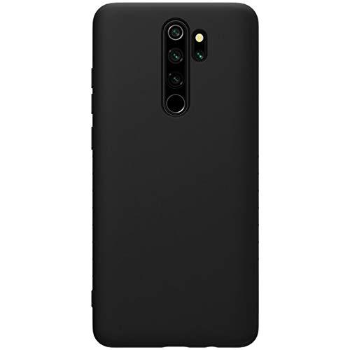Nillkin Rubber Wrapped Protective Cover Case for Xiaomi Redmi Note 8 Pro (Black) 1