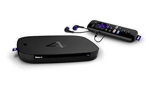 Roku 4 Streaming Media Player 4K UHD (4400R)