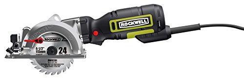 "Rockwell RK3441K 4-1/2"" Compact Circular Saw"