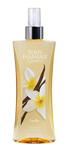 Body Fantasies Fragrance Body Spray, Vanilla, 8 Ounce