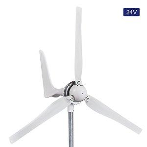 Automaxx Windmill 1200W 24V 42A Wind Turbine Generator kit. MPPT charge controller included (Amp, Volt & Watt display) + automatic and manual braking system. DIY installation.