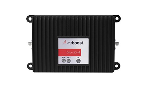 weBoost Drive 3G-M 470102 Cell Phone Booster Kit for Car, Truck and RV Use - Enhance Your Signal up to 32x