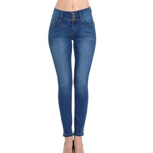 Wax Women's Juniors Body Flattering Mid Rise Skinny Jeans 9 Fashion Online Shop 🆓 Gifts for her Gifts for him womens full figure