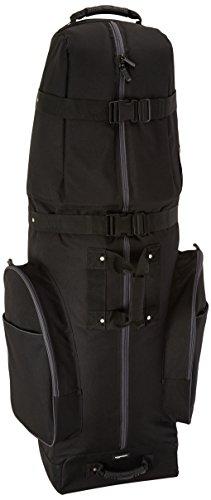 AmazonBasics Soft-Sided Golf Club Travel Bag Case With Wheels - 50 x 13 x 15 Inches, Black
