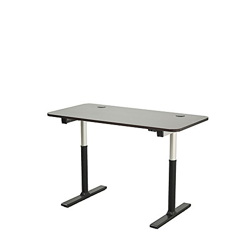 ApexDesk VT60ESS-S Vortex Series 60' 2-Button Electric Height Adjustable Sit to Stand Desk, Espresso Top with Standard Controller
