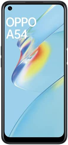 OPPO A54 (Crystal Black, 4GB RAM, 64GB Storage) with No Cost EMI/Additional Exchange Offers