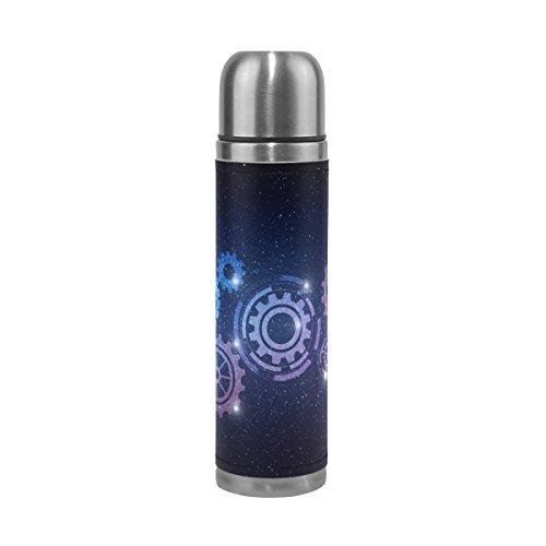 saobao ciencia y tecnología de Gear botella de agua aspiradora de doble pared de acero inoxidable...