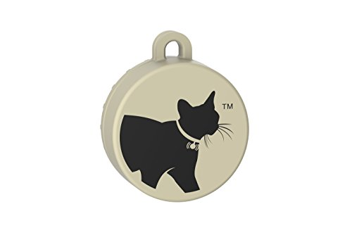 CAT TAILER The Smallest and Lightest Bluetooth Waterproof Cat Tracker with 328 ft Range and 6 Month Battery Life