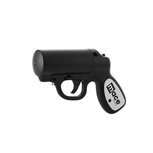Best Women's Self Defense Tools - Mace Brand Self-Defense Police Strength Pepper Spray Gun with Strobe LED