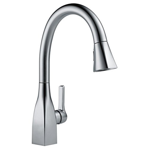 Delta Faucet Mateo Single-Handle Kitchen Sink Faucet with Pull Down Sprayer
