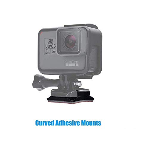 31O1ooJx8 L Action Pro 2 x 3M 2 Curve Adhesive Sticky Mount Compatible with GoPro SJCAM YI 4K Eken