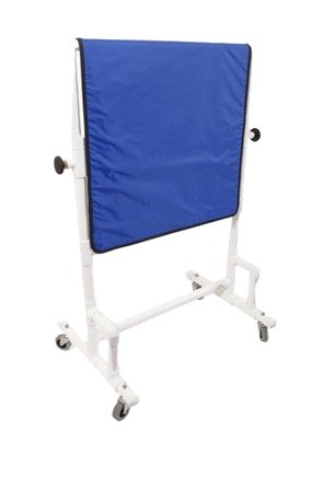 """X-Ray Mobile Shield - Heavy Duty Mobile, PVC Base, Overall 24"""" W x 24"""" H, 0.5mm Protection"""
