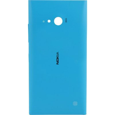 Nokia Back Panel Cover for Lumia 730 (Cyan) - Non Retail Packaging 9