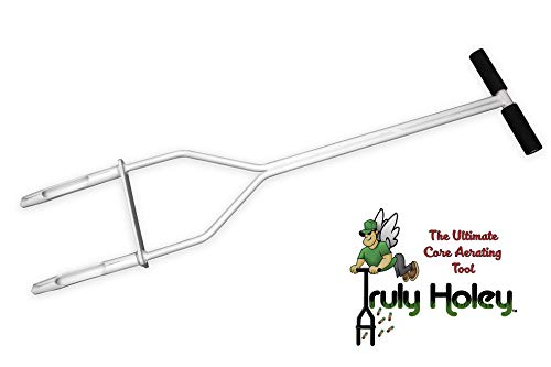 """Truly Holey Manual Lawn Aerator Tool by Four Seasons Lawn Aeration, Inc. 
