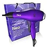 Neo Nano Ionic Hair Blow Dryer - Super Hot 1800-2000 Watts - Purple