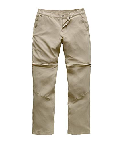 The North Face Women's Paramount Convertible Pant, Dune Beige, Size 12 Long