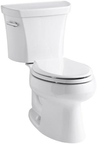 Kohler K-3978-0 Wellworth Elongated 1.6 gpf Toilet