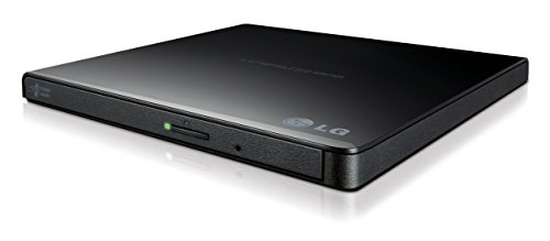 LG Electronics 8X USB 2.0 Super Multi Ultra Slim Portable DVD Writer Drive +/ RW External Drive with M DISC Support (Black) GP65NB60  Image of 31OhASzonyL