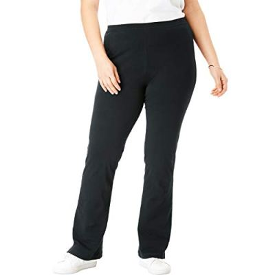 Plus size bootcut yoga pants tall