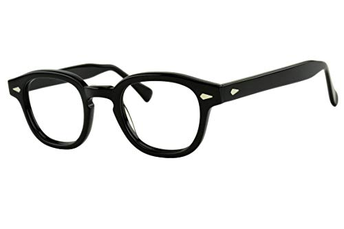 Verona Love Non Prescription Eyeglasses Frame High End Fashion Eye Wear Clear Vintage Style Glasses Frames For Men and Women VLV46 C001