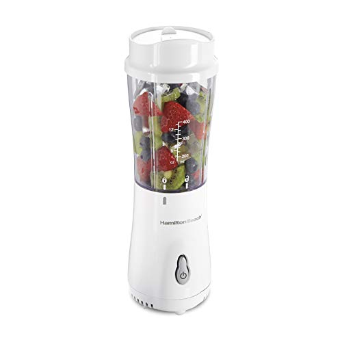 Hamilton Beach Personal Smoothie Blender With 14 Oz Travel...