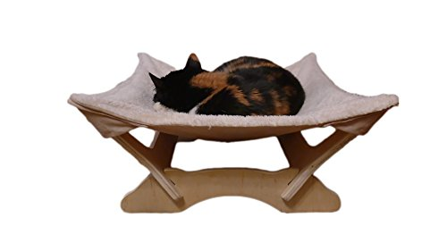 Cat Hammock with Stand | Natural Material Cats Love for Any Cat Lover 6