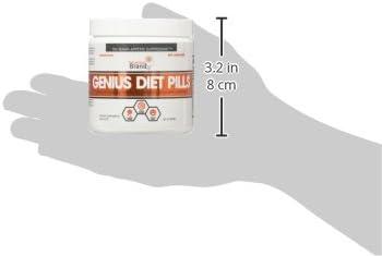 Genius Diet Pills – The Smart Appetite Suppressant That Works Fast for Safe Weight Loss, Natural 5-Htp & Saffron Supplement Proven for Women & Men – Cortisol Manger + Thyroid Support, 50 Veggie Caps 11