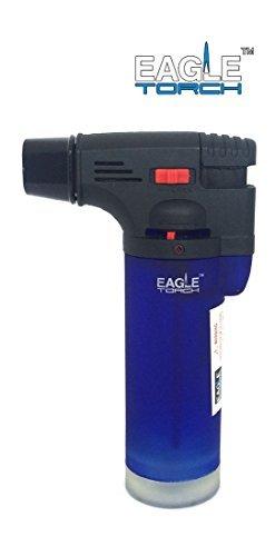 Eagle Jet Gun Torch Lighter Windproof Refillable Lighter (Blue)