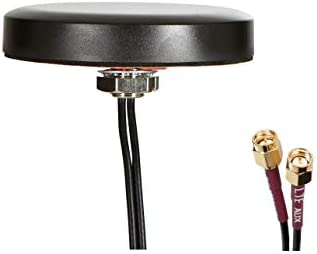 Proxicast Ultra Low Profile MIMO 4G / LTE Omni-Directional Screw-Mount Antenna with SMA External Antenna Jacks