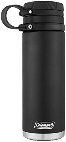 31PN%2BhF3GsL. AC  - Coleman - Botella de Agua de Acero Inoxidable, hermética #Amazon