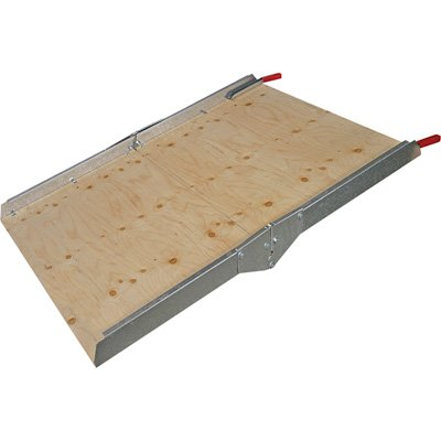 West Build-Your-Own Utility Ramp Kit - 4ft.L, 12in.-24in. Lift, Model# 1240