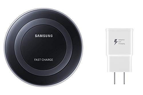 Samsung Qi Certified Fast Charge Wireless Charger Pad - US Version - Black