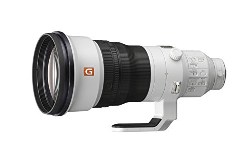 Sony SEL400F28GM 400mm F/2.8-2.8 Fixed Prime Camera Lens, White