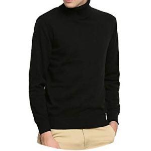 Hot 2018 Winter Sweater Men Turtleneck Slim Fit Winter Pullover Men