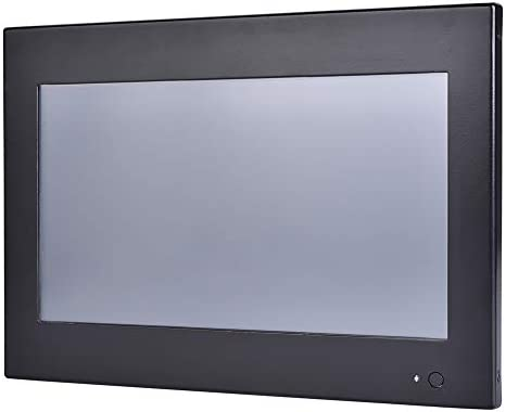 10.1 Inch Industrial Touch Panel PC,All in One Computers,4 Wires Resistive Touch Screen,Windows 7/10,Linux,Intel J1800,(Black),[HUNSN WD12],[3RS232/VGA/LAN/3USB2.0/1USB3.0/Fanless],(Barebone System)