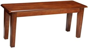 Ashley Furniture Signature Design – Berringer Dining Bench – Rectangular – Vintage Casual – Rustic Brown Finish