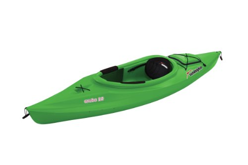 Sun Dolphin Aruba Sit-In Kayak, Lime, 10-Feet