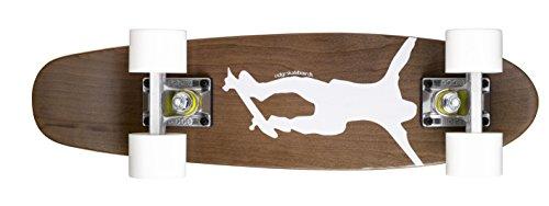 Ridge Skateboards Complete 55cm Maple Wooden Retro 22' Mini Cruiser Board